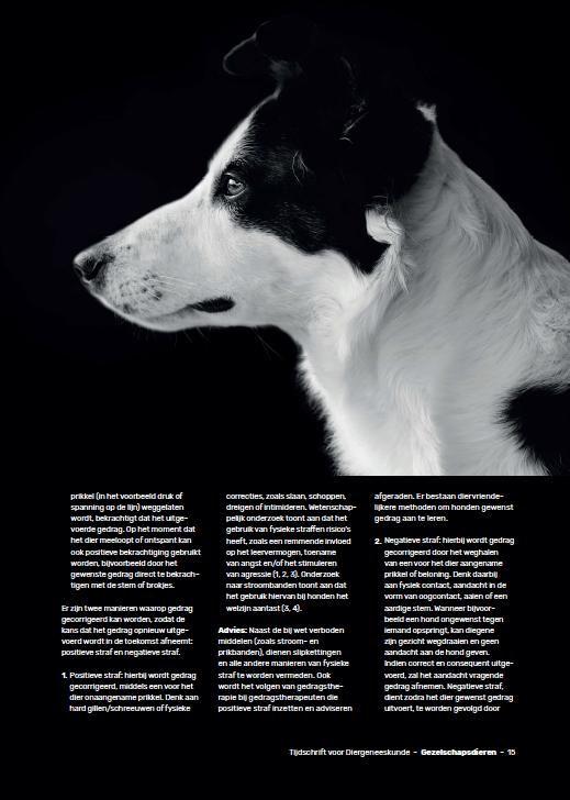 gedragstherapie en training bij dieren pag. 2
